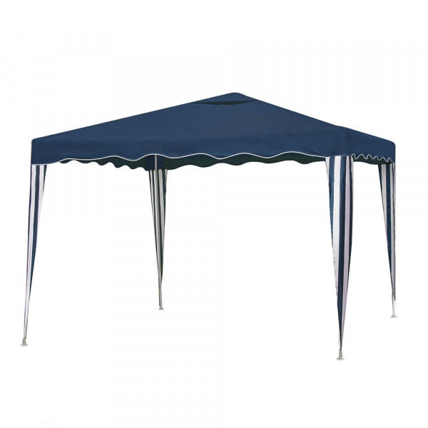 Gazebo desmontable azul