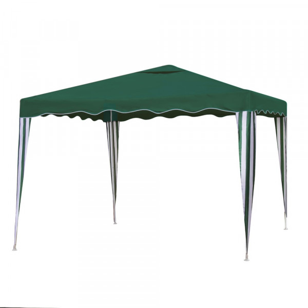 Gazebo desmontable verde