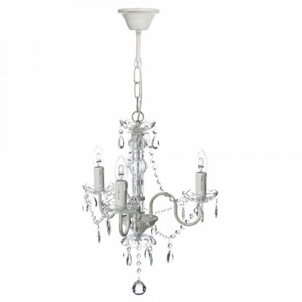 Lámpara chandelier beige france