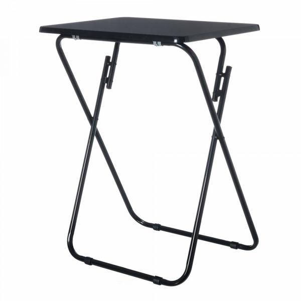 mesa plegable negro basic