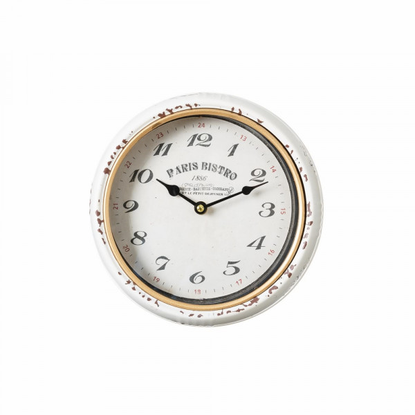 Reloj pared blanco france