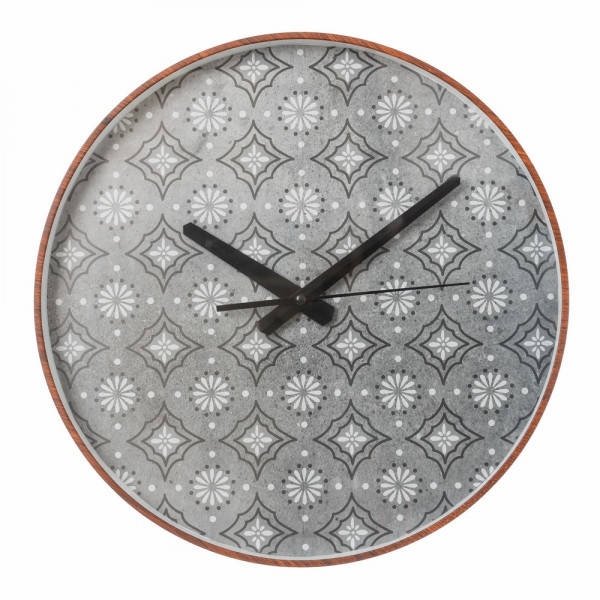 Reloj pared gris arabia