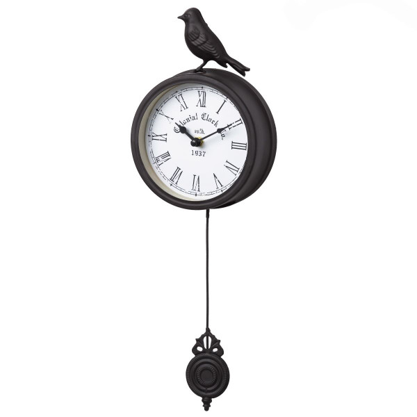 Reloj pared negro france