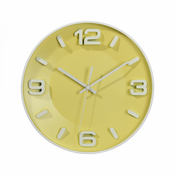Reloj pared verde child