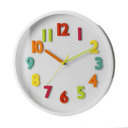Reloj pared blanco child