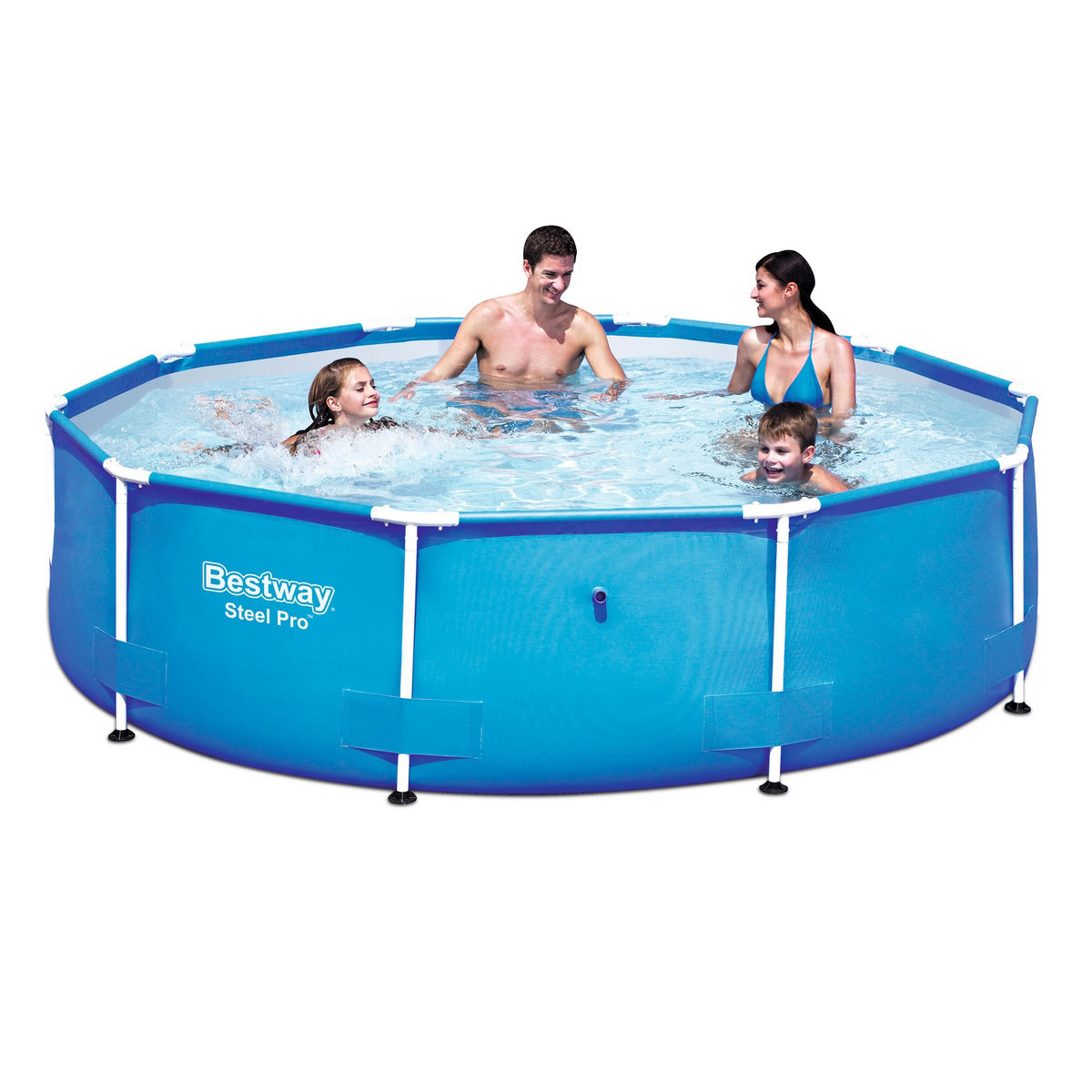 Piscina autoportante desmontable de pvc azul lola home for Piscinas de pvc precios
