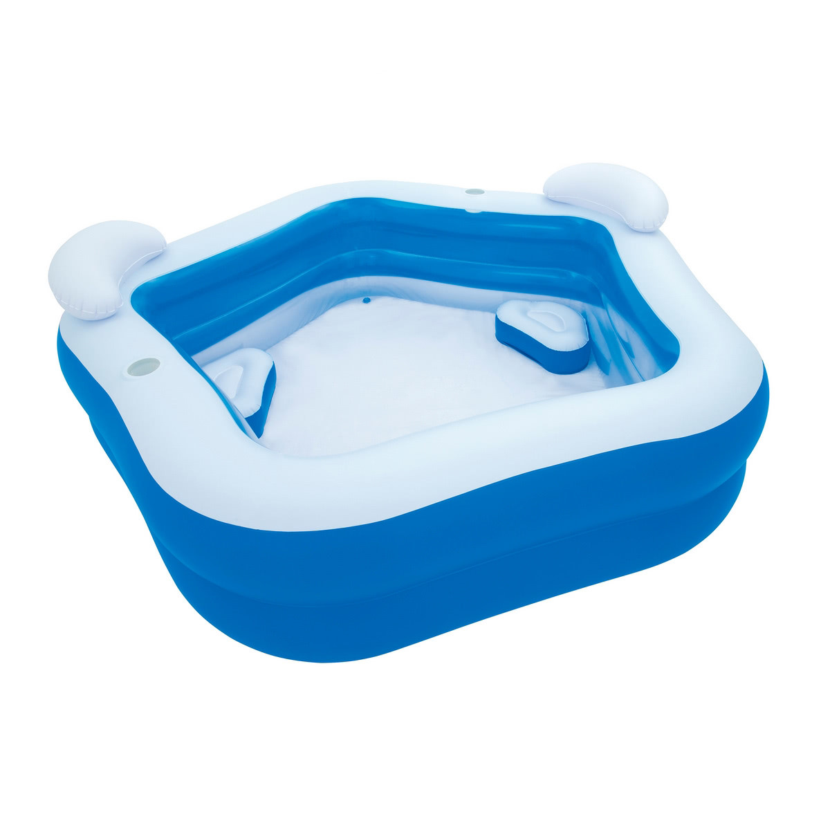 Piscina autoportante hinchable de pvc azul lola home for Piscinas de jardin hinchables